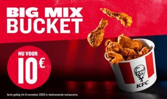 KFC reclame folder (geldig t/m 09-11)
