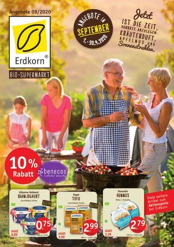 Erdkorn Biomarkt Prospekt (bis einschl. 30-09)