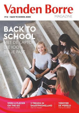 Vanden Borre reclame folder (geldig t/m 30-09)