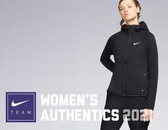 Nike reclame folder (geldig t/m 30-06)