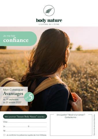 Body Nature catalogue publicitaire (valable jusqu'au 31-10)