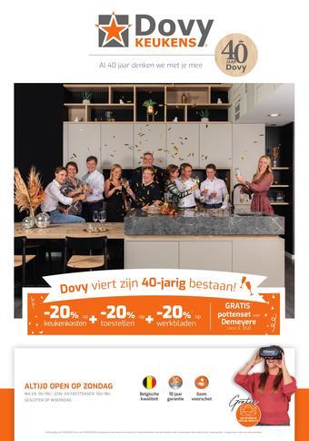 Dovy keukens reclame folder (geldig t/m 30-09)