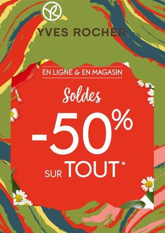 Yves Rocher reclame folder (geldig t/m 30-09)