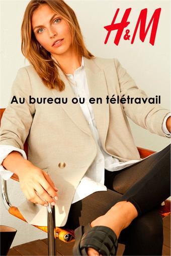 H&M catalogue publicitaire (valable jusqu'au 26-10)