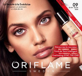 Oriflame catalogue publicitaire (valable jusqu'au 30-09)