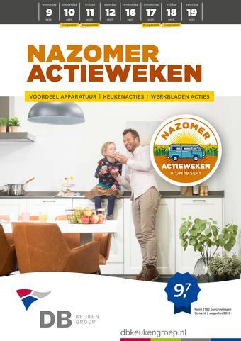 DB keukens reclame folder (geldig t/m 19-09)