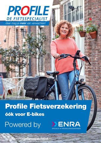 Profile de Fietsspecialist reclame folder (geldig t/m 30-09)