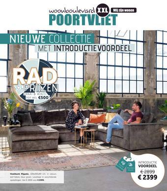 Woonboulevard Poortvliet reclame folder (geldig t/m 20-09)