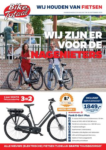 Bike Totaal reclame folder (geldig t/m 30-09)