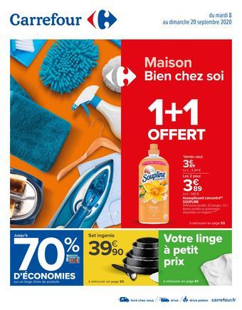 Carrefour catalogue publicitaire (valable jusqu'au 20-09)