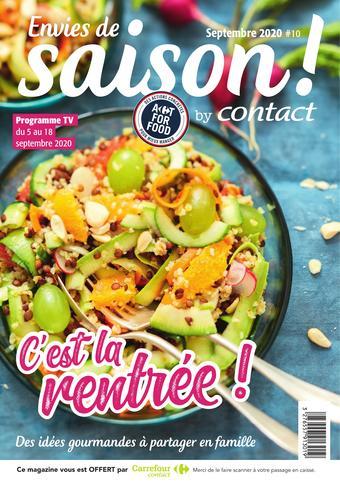 Carrefour Contact catalogue publicitaire (valable jusqu'au 18-09)