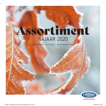 Van Hoeckel reclame folder (geldig t/m 31-12)