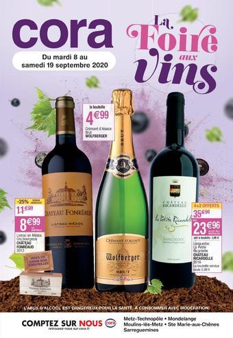Cora catalogue publicitaire (valable jusqu'au 19-09)