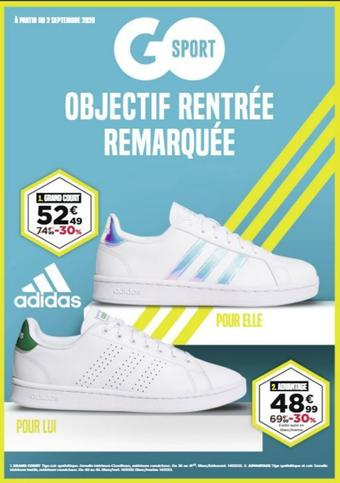 Go Sport catalogue publicitaire (valable jusqu'au 21-09)