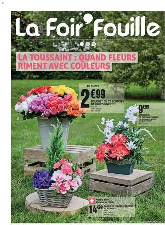La Foir'Fouille catalogue publicitaire (valable jusqu'au 20-09)