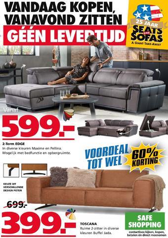 Seats and Sofas reclame folder (geldig t/m 20-09)