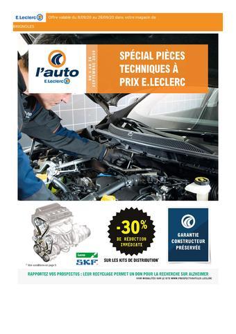 E.Leclerc L'Auto catalogue publicitaire (valable jusqu'au 26-09)