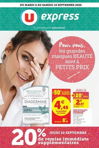 U Express catalogue publicitaire (valable jusqu'au 19-09)