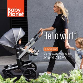 Babyplanet reclame folder (geldig t/m 31-10)