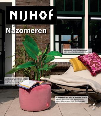 Nijhof reclame folder (geldig t/m 27-09)