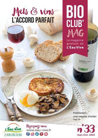 L'Eau Vive catalogue publicitaire (valable jusqu'au 31-10)