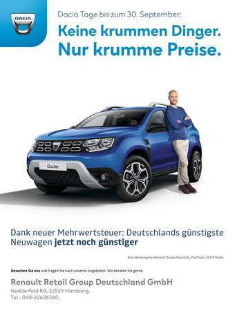 Dacia Prospekt (bis einschl. 30-09)