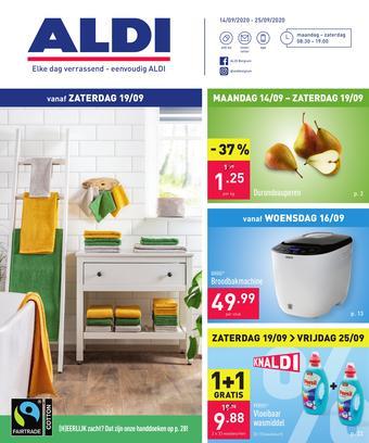 ALDI reclame folder (geldig t/m 25-09)
