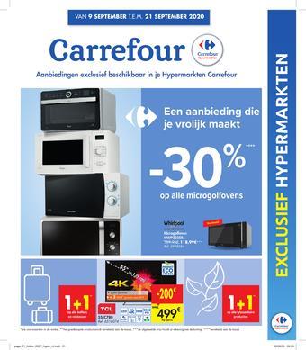 Carrefour reclame folder (geldig t/m 21-09)