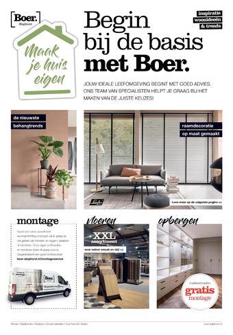 Boer Staphorst reclame folder (geldig t/m 10-10)
