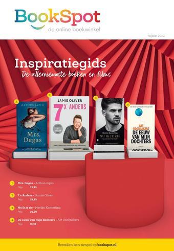 BookSpot reclame folder (geldig t/m 04-10)