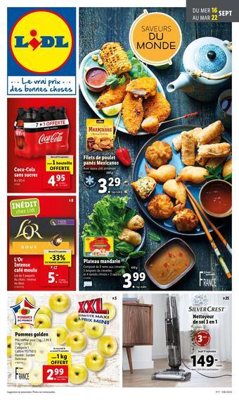 Lidl catalogue publicitaire (valable jusqu'au 22-09)