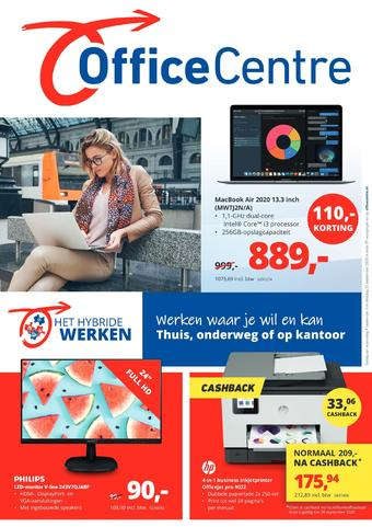 Office Centre reclame folder (geldig t/m 22-09)
