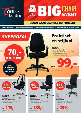 Office Centre reclame folder (geldig t/m 06-10)