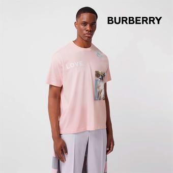 Burberry reclame folder (geldig t/m 06-10)