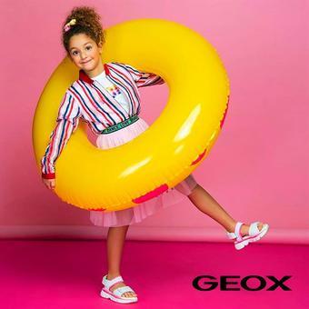 Geox reclame folder (geldig t/m 22-10)