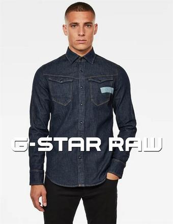 G-Star RAW reclame folder (geldig t/m 27-10)
