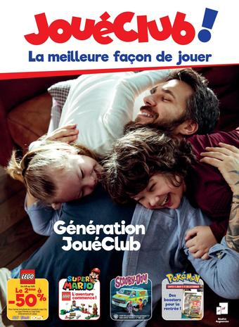 JouéClub catalogue publicitaire (valable jusqu'au 30-09)