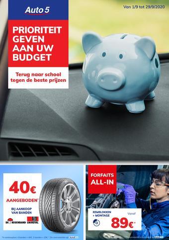 Auto5 reclame folder (geldig t/m 29-09)