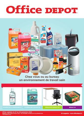 Office Depot catalogue publicitaire (valable jusqu'au 29-09)