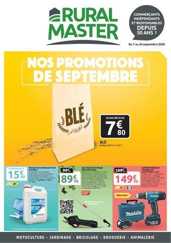 Pôle Vert catalogue publicitaire (valable jusqu'au 26-09)