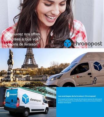 Chronopost catalogue publicitaire (valable jusqu'au 30-09)