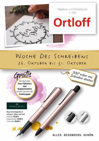 Ortloff Prospekt (bis einschl. 31-10)