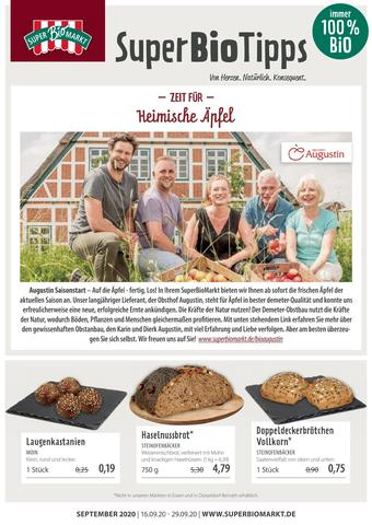 Superbiomarkt Prospekt (bis einschl. 29-09)