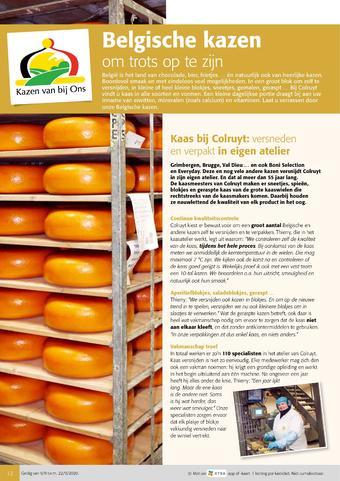 Colruyt reclame folder (geldig t/m 22-09)