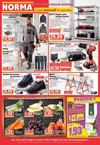 Norma catalogue publicitaire (valable jusqu'au 22-09)