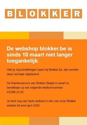 Blokker reclame folder (geldig t/m 30-11)