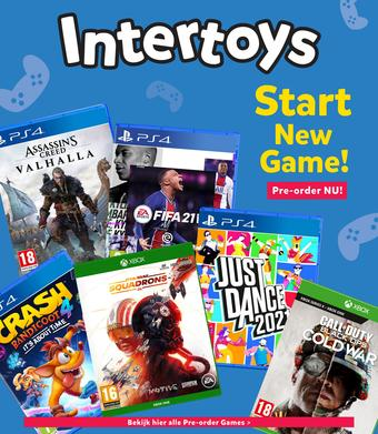 Intertoys reclame folder (geldig t/m 09-10)