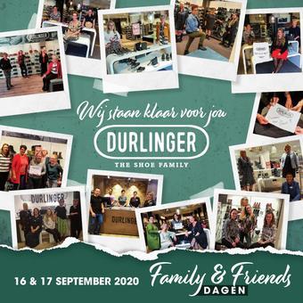 Durlinger Schoenen reclame folder (geldig t/m 25-09)