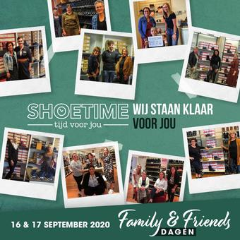 Shoetime reclame folder (geldig t/m 25-09)
