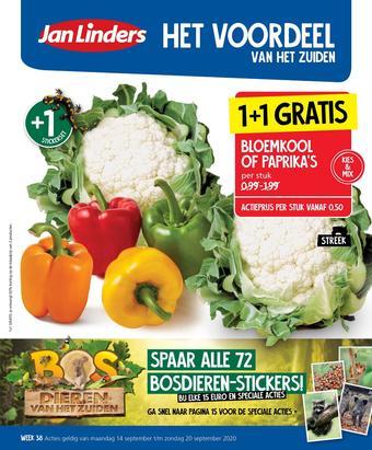 Jan Linders reclame folder (geldig t/m 20-09)